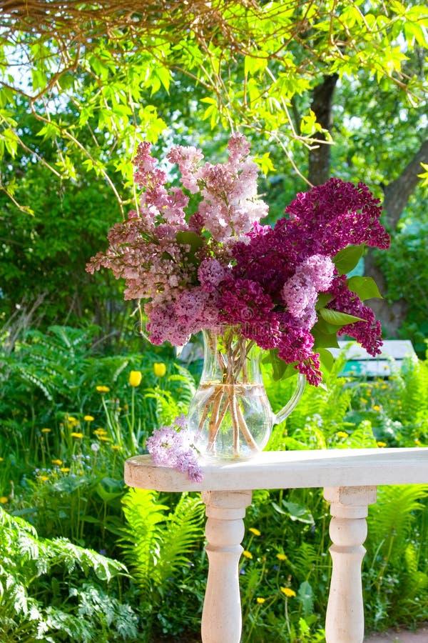 Ramalhete do Lilac imagens de stock