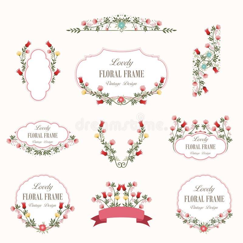 Ramalhete do projeto bonito das flores imagens de stock royalty free