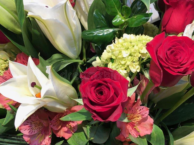 Ramalhete do rosas vermelhas imagem de stock royalty free