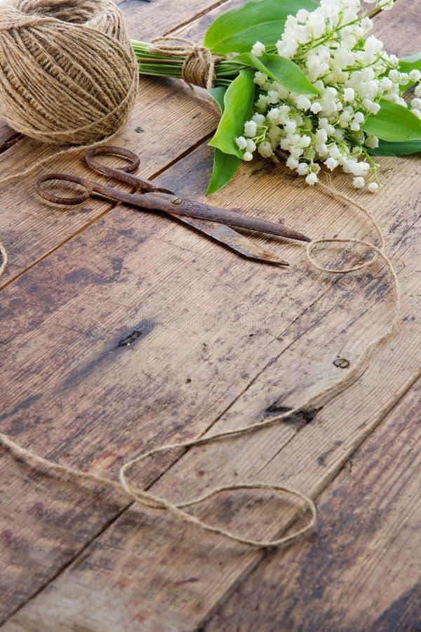 Ramalhete do vintage de flores da mola fotos de stock royalty free