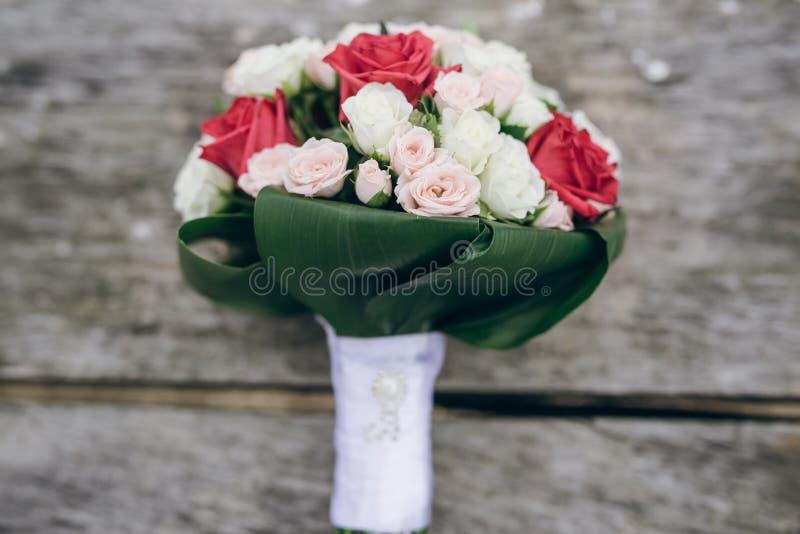 Ramalhete HD do casamento fotografia de stock