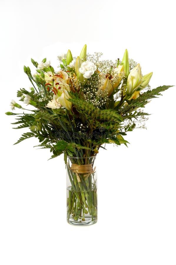 Ramalhete no vaso fotografia de stock royalty free