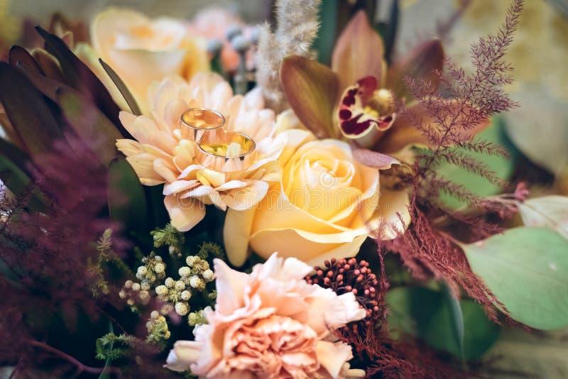 Ramalhete para o casamento fotos de stock