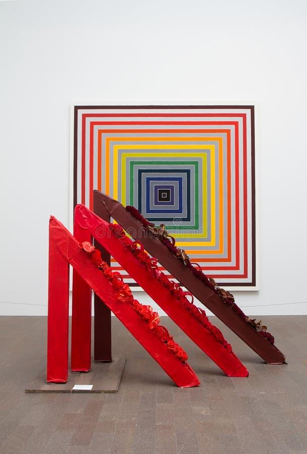 Ramalhetes à exposição 2014 da arte imagens de stock