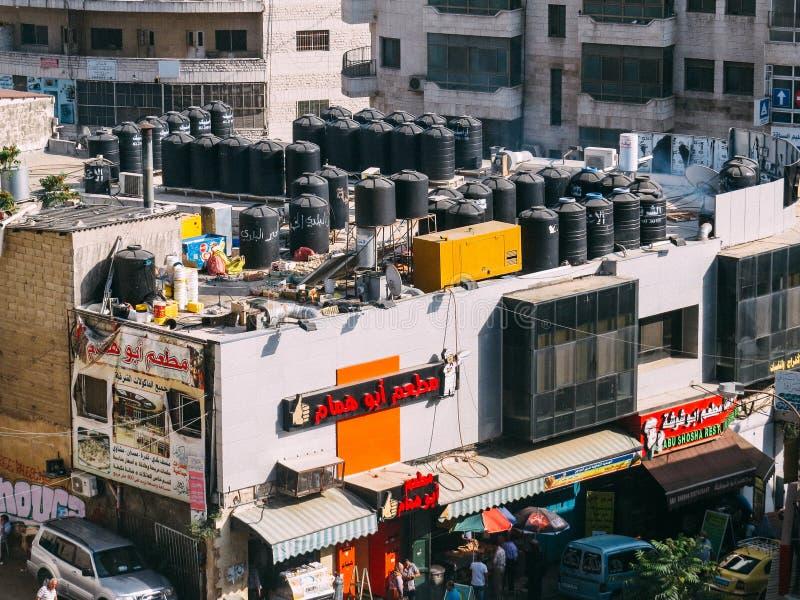Ramallah Streetview stock fotografie