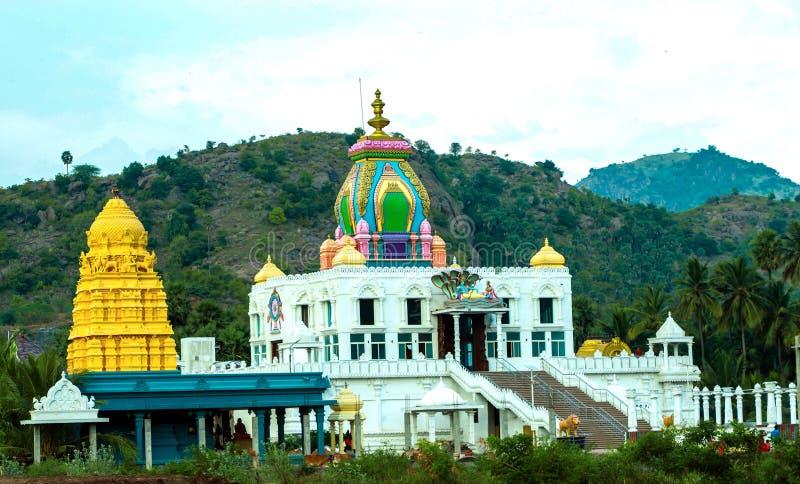 Ramanujar mandapam stock afbeelding