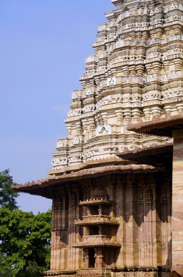 Ramappatempel, Palampet, Warangal, Telangana, India stock afbeelding