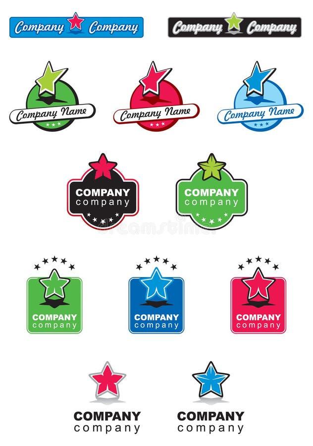 Ramassage 06 de logo illustration libre de droits