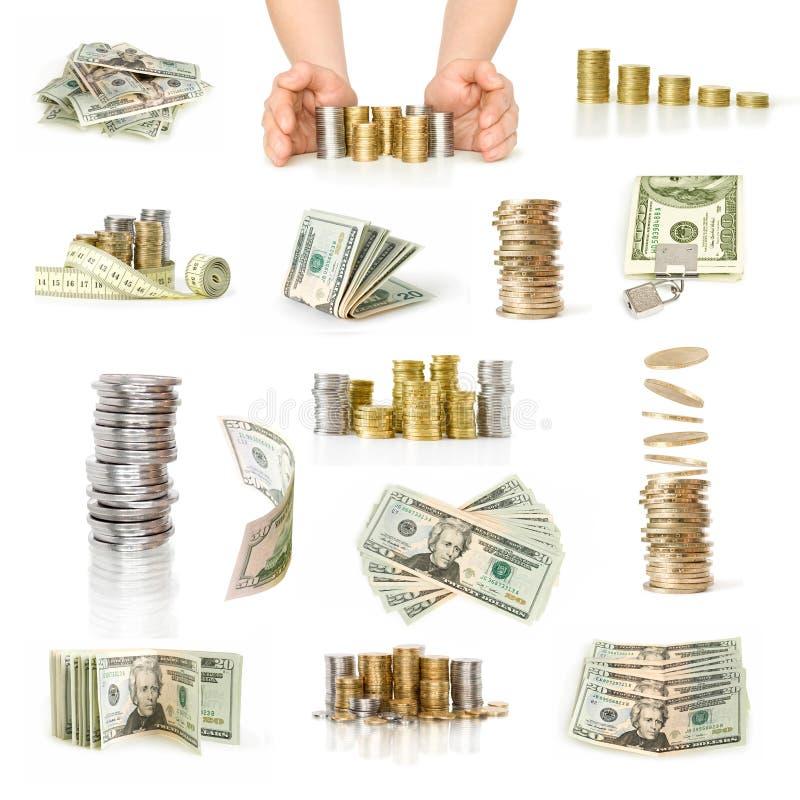 Ramassage d'argent photos stock
