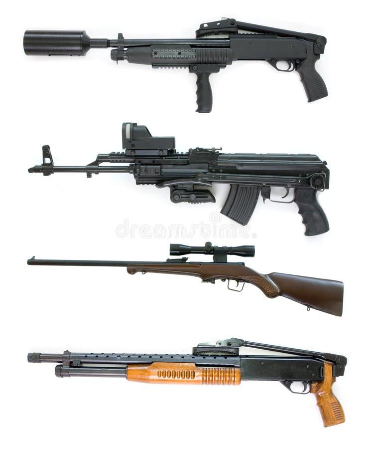 Ramassage d'arme - grand fichier de taille photographie stock