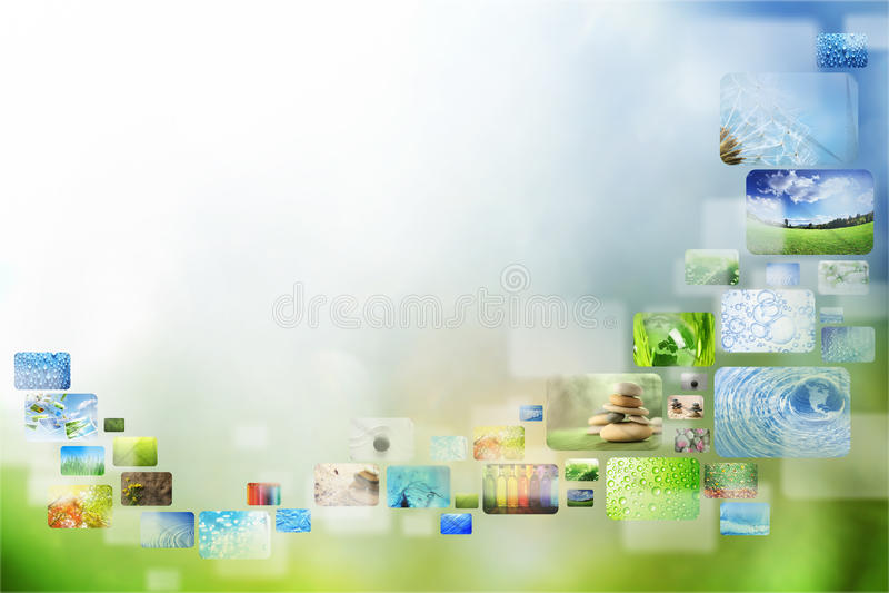 Ramassage d'images illustration stock