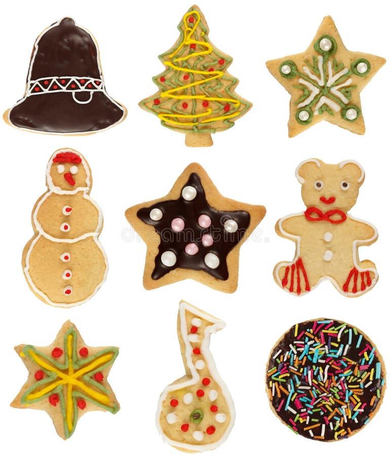 Ramassage de biscuit de Noël image libre de droits