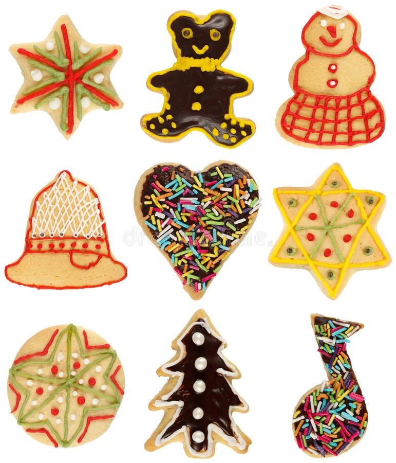 Ramassage de biscuit de Noël photographie stock