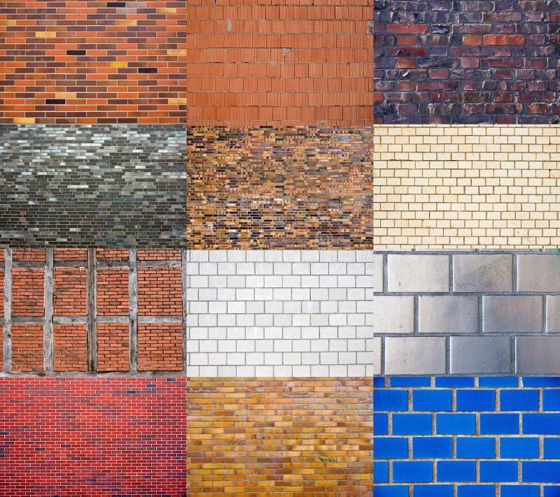 Ramassage de Brickwall photos stock