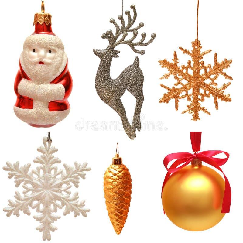 Ramassage de jouets de Noël photographie stock