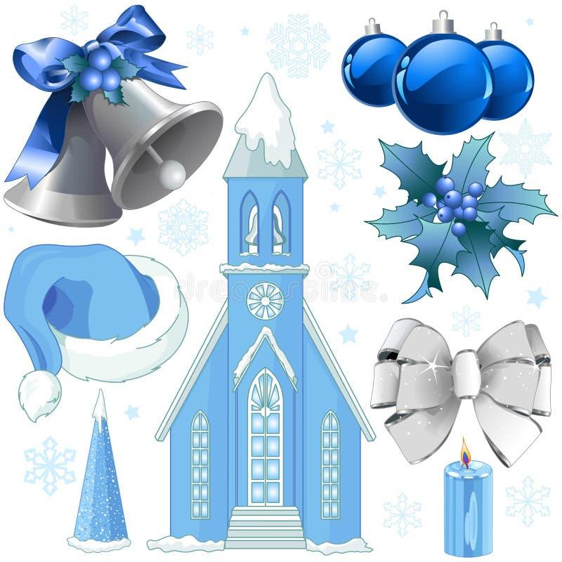 Ramassage de Noël illustration libre de droits
