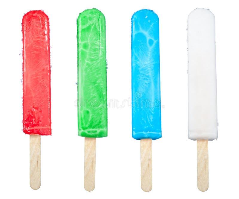 Ramassage de Popsicle photographie stock