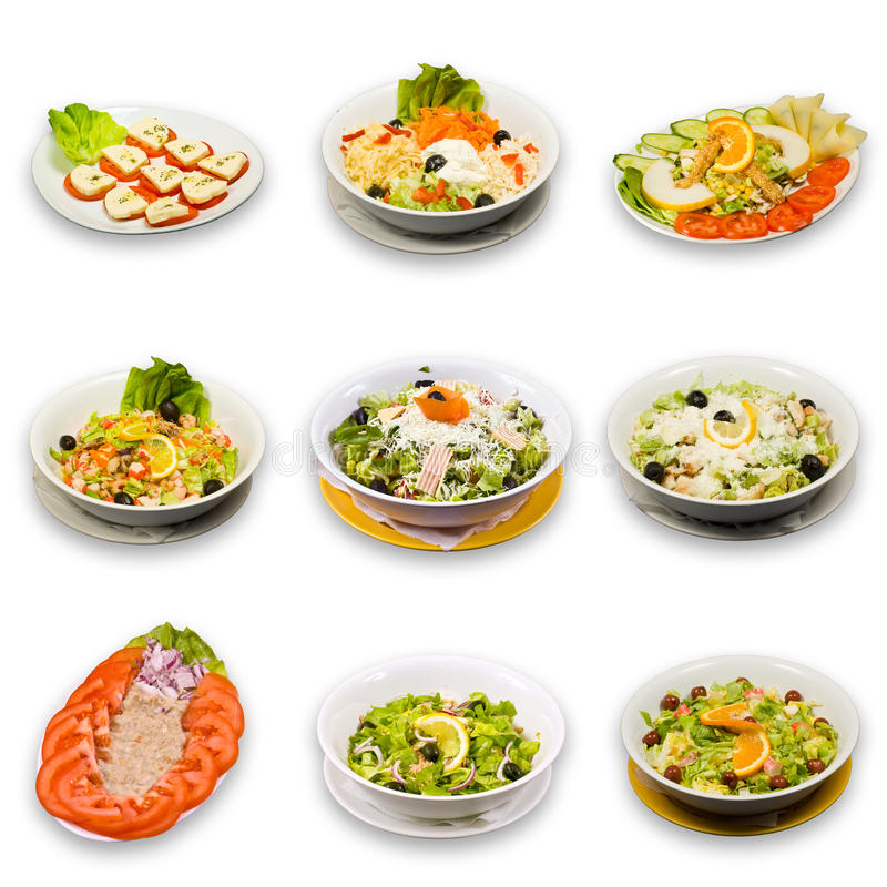 Ramassage de salade images stock