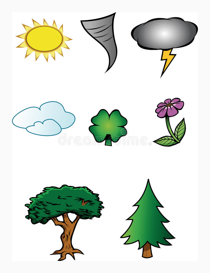 Ramassage de temps de nature illustration stock