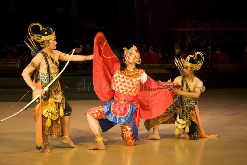 ramayana балета стоковое изображение