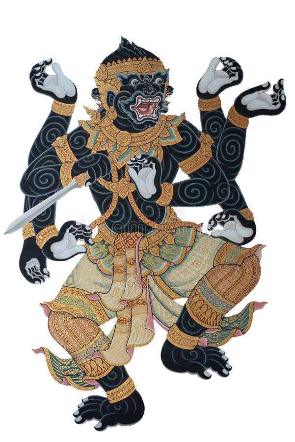 Ramayana obrazy stock