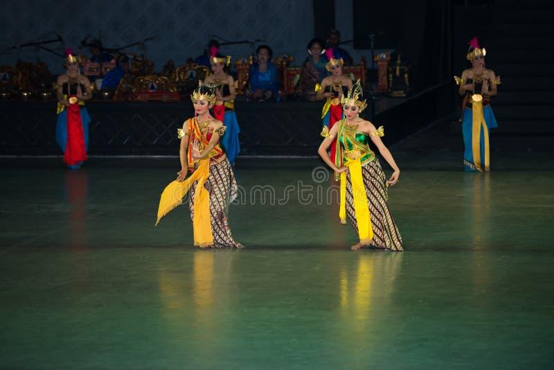 Ramayana Ballet at at Prambanan, Indonesia. YOGYAKARTA, INDONESIA - SEP 12: Ramayana Ballet show at Prambanan temple on SEP 12, 2012 in Yogyakarta, Indonesia. It royalty free stock photos