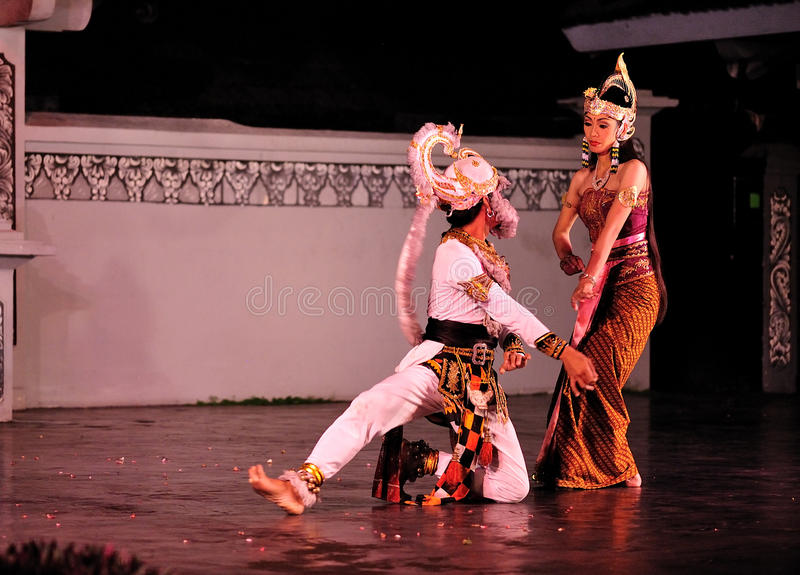 Download The Ramayana Dance Performance Editorial Stock Image - Image: 18976534