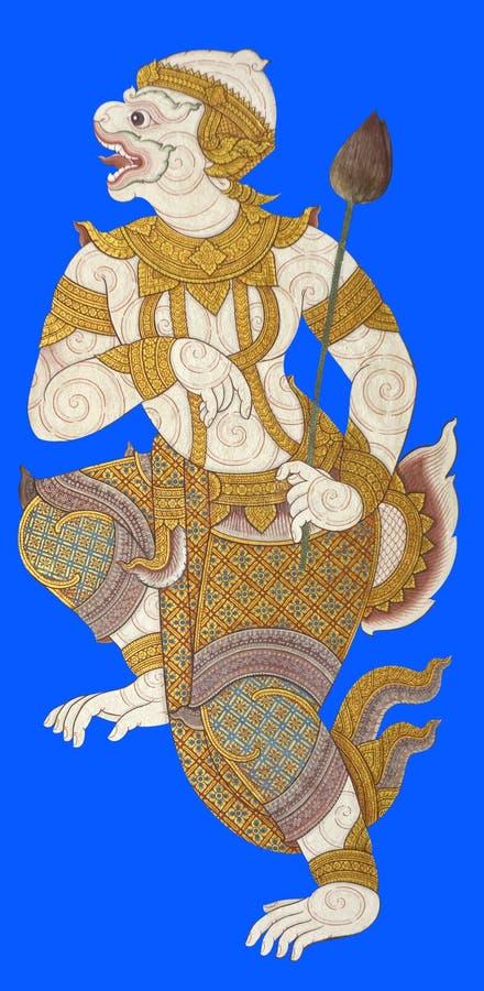 Ramayana tailandês fotografia de stock