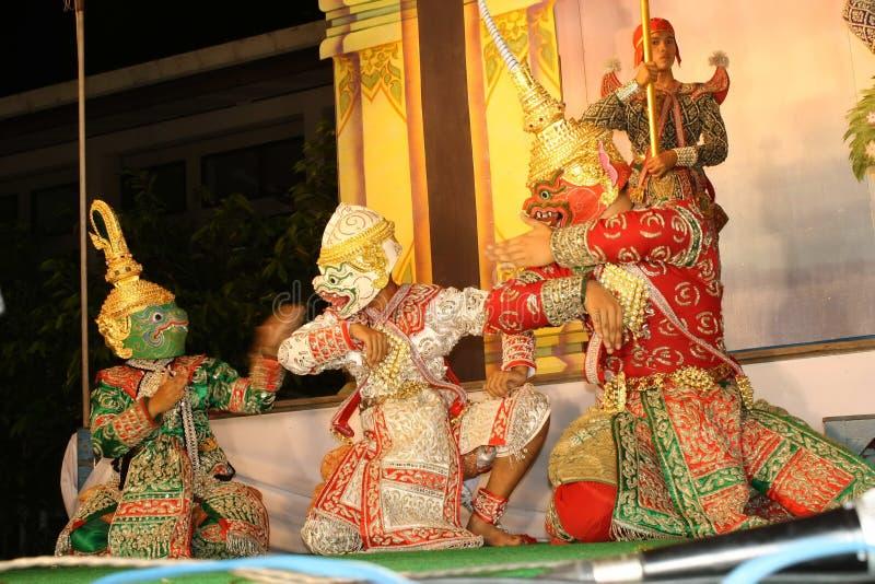 Ramayana tailandês foto de stock royalty free