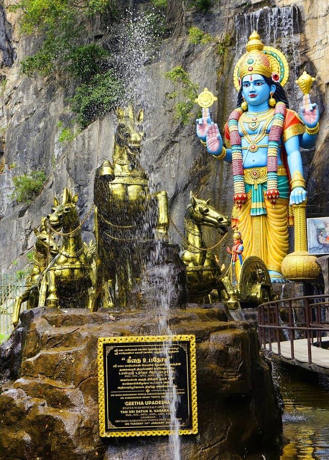 Ramayanaholen, Batu-Holen in Kuala Lumpur, Maleisië, Azië royalty-vrije stock afbeeldingen