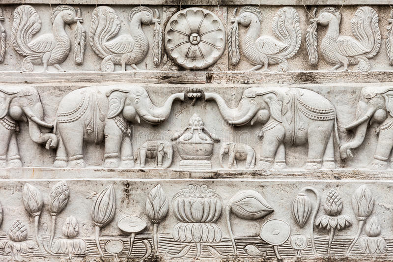 Rambadagalla Samadhi菩萨雕象 库存照片