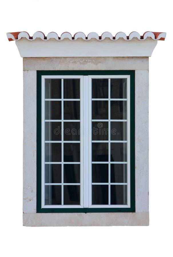 rambostadsfönster royaltyfri fotografi