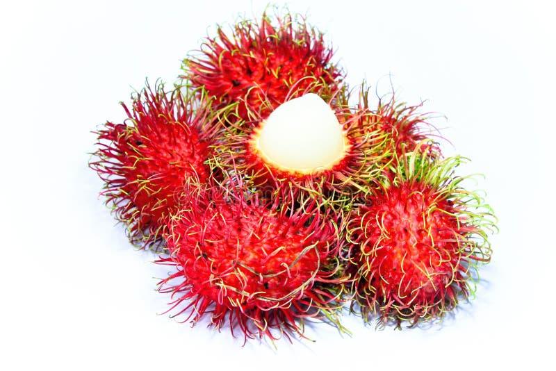 rambutan плодоовощ тропический стоковое изображение rf