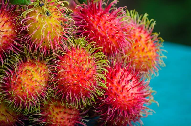 Rambutan. Close up of asian fruit rambutan royalty free stock photography