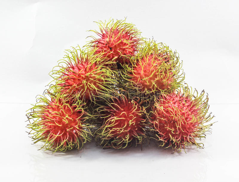 Rambutan delicious, diet royalty free stock image