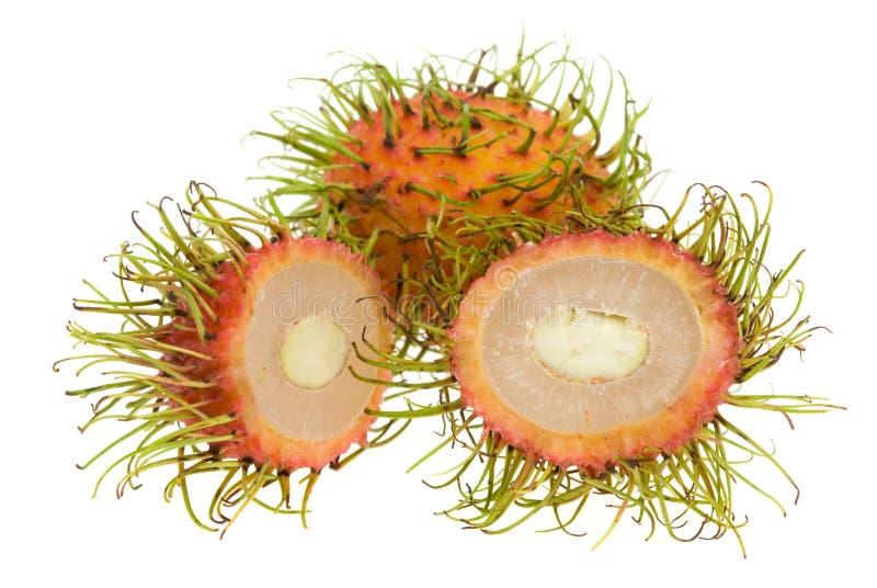 Rambutan fresco fotografia stock