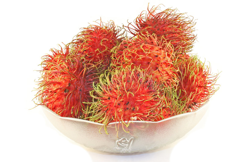 Rambutan Fruit Royalty Free Stock Photos