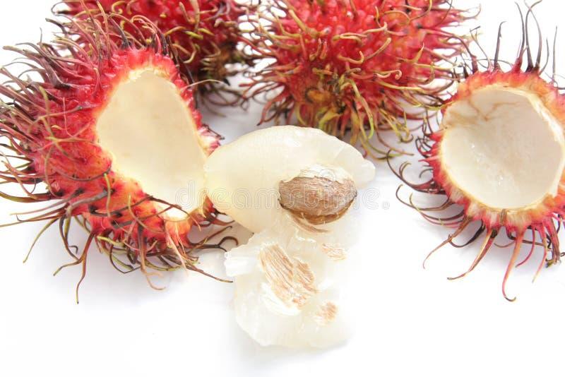 Rambutan fruit stock image