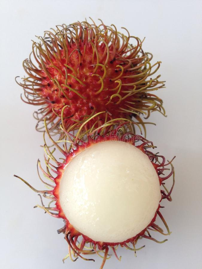 Rambutan. Fruit of Thailand stock images
