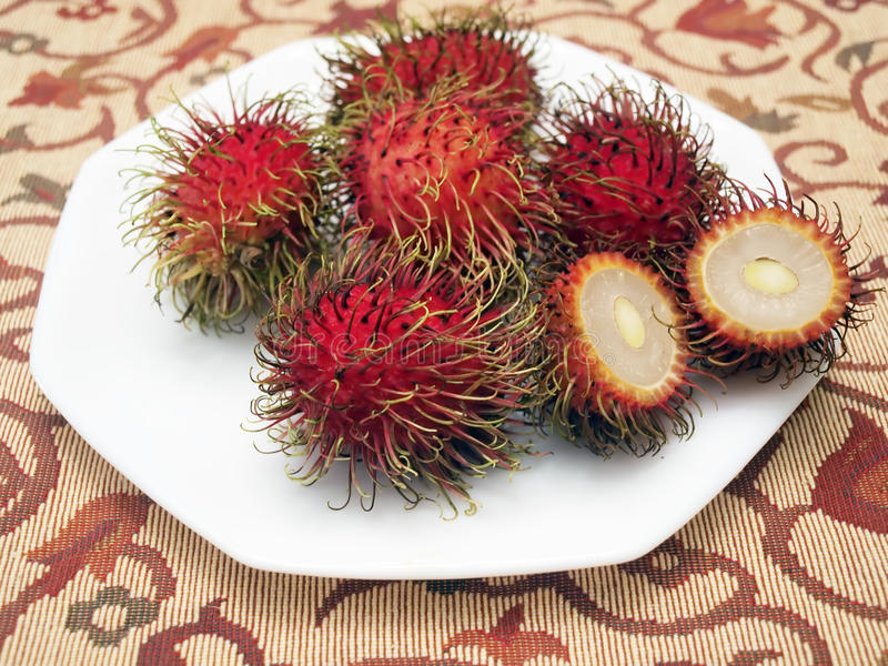 rambutan fruit2 стоковые фотографии rf