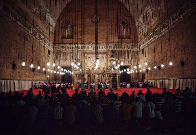 Ramdan祷告 库存图片