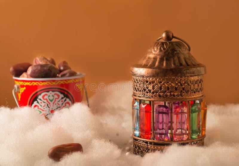 Ramdan fanos royaltyfri foto