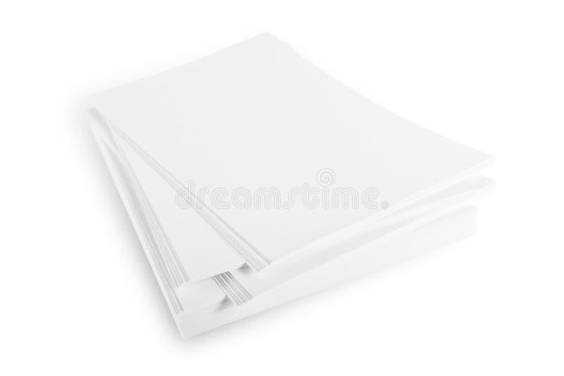 Rame de papier images libres de droits