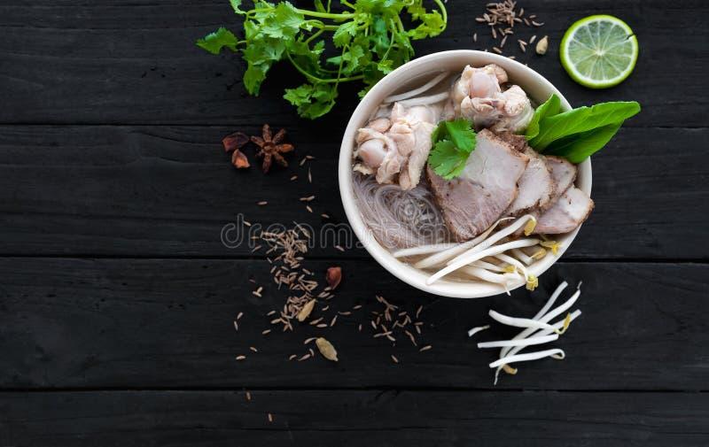 Ramen chinos de la sopa fotografía de archivo libre de regalías