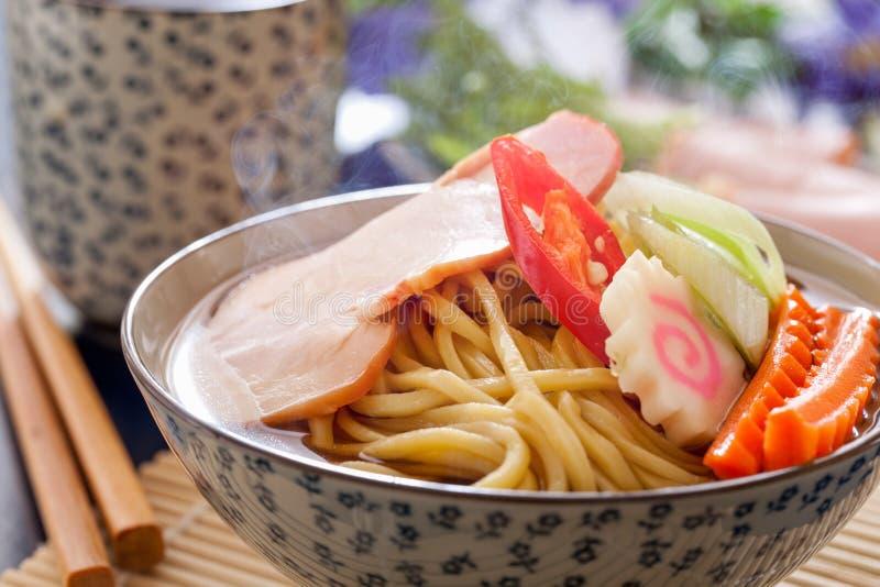 Ramen de Tonkotsu fotografia de stock
