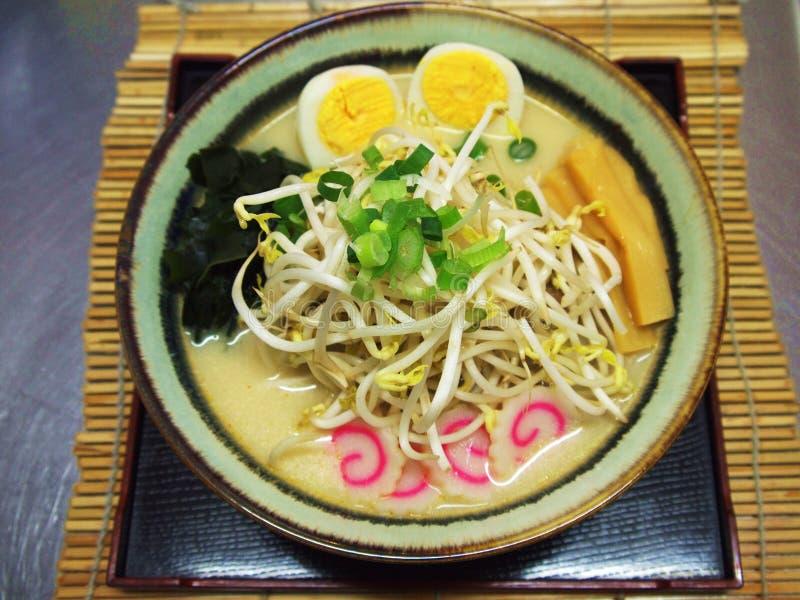 Ramen japonês fotografia de stock royalty free