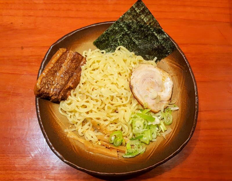 Ramen populair van Japans voedsel, één van Aziatische noedels royalty-vrije stock afbeelding