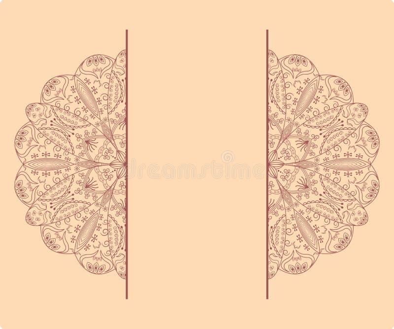 ramen snör åt stock illustrationer