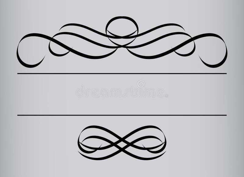 ramen style jag inåt symmetrisk vektortappning royaltyfri illustrationer