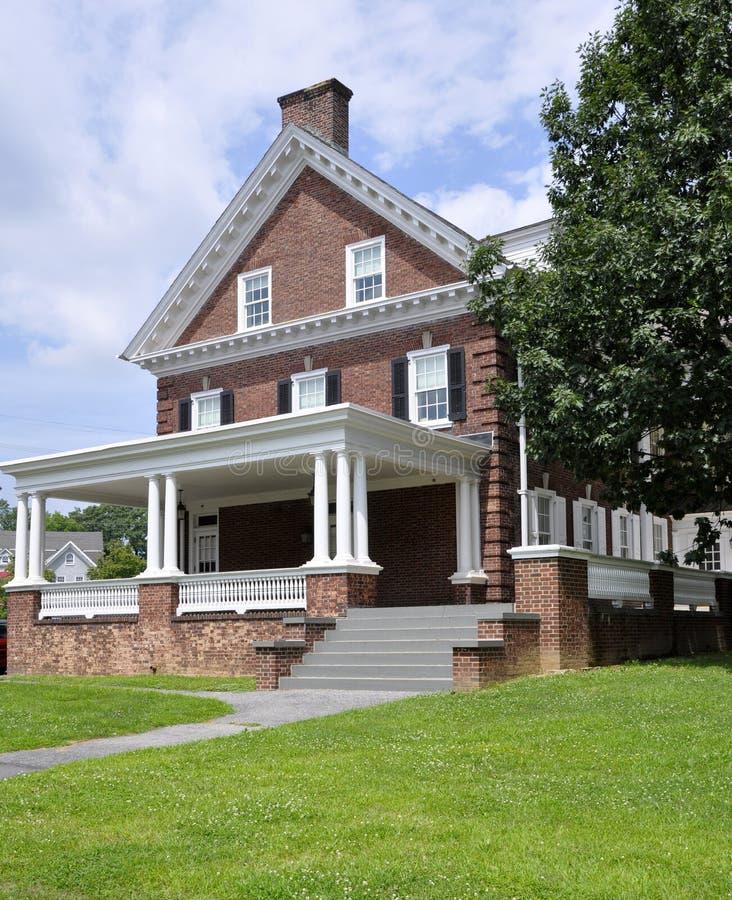 Ramer Hall, Lafayette Collegw images libres de droits